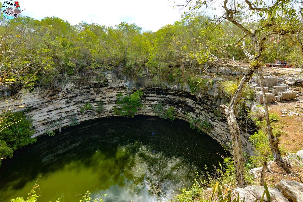 Cenote Sagrado en Chichén Itzá | Un Pin en el Mapa