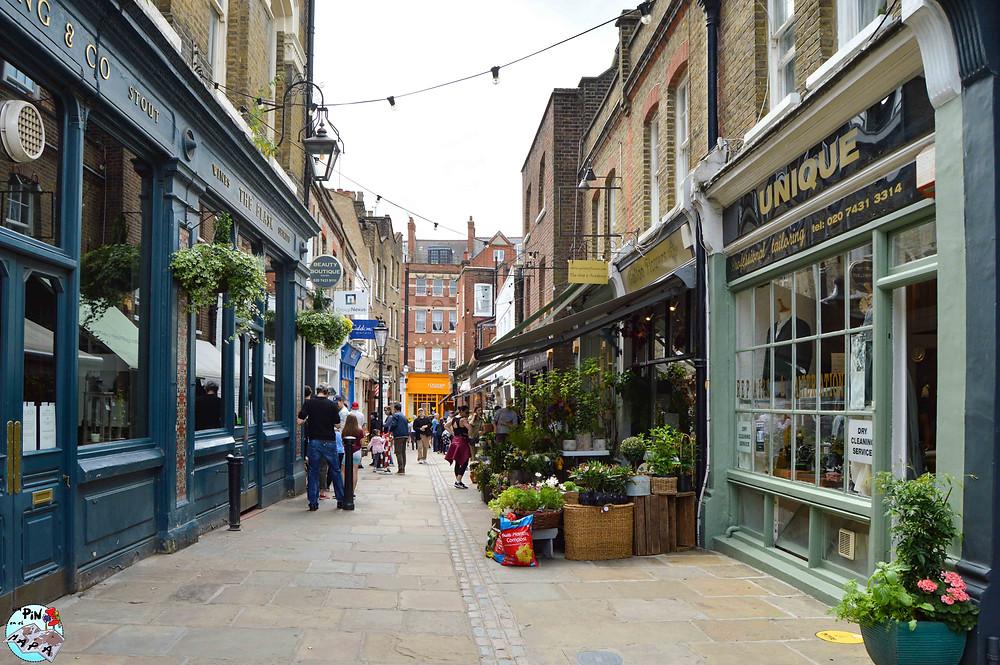 Flask Walk Street, Hampstead | Un Pin en el Mapa