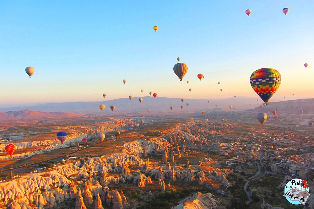 Vuelo en Globo Cappadocia | Un Pin en el Mapa