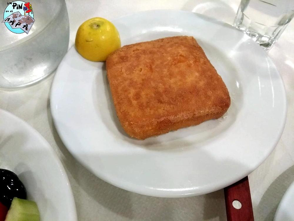 Saganaki: gastronomía griega | Un Pin en el Mapa