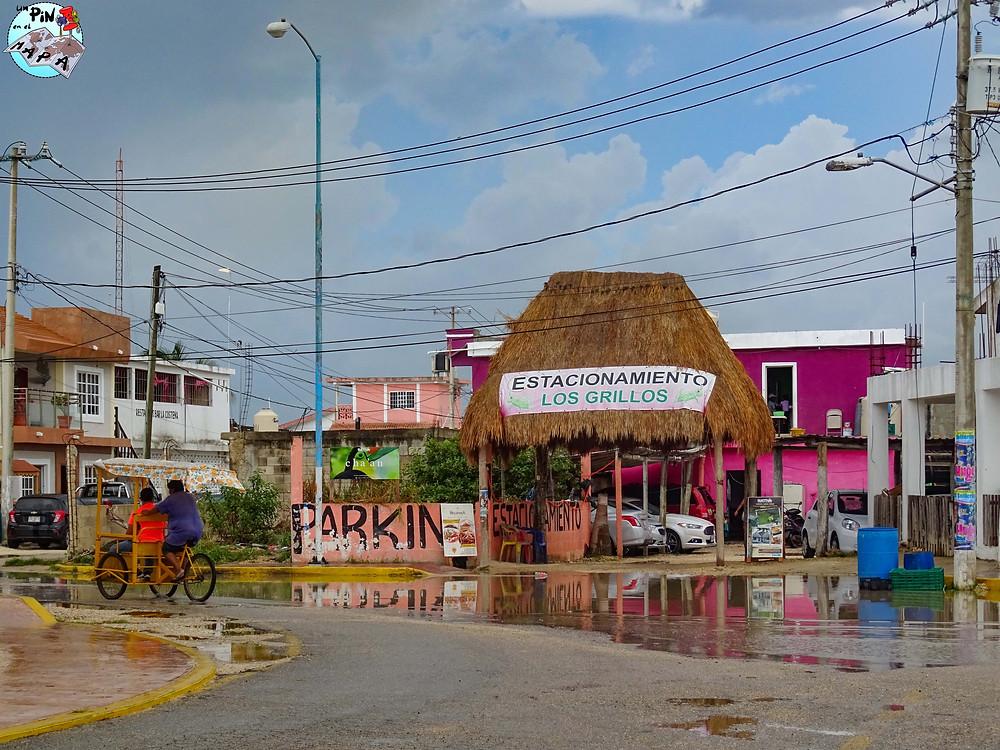 Estacionamiento en Chiquilá | Un Pin en el Mapa