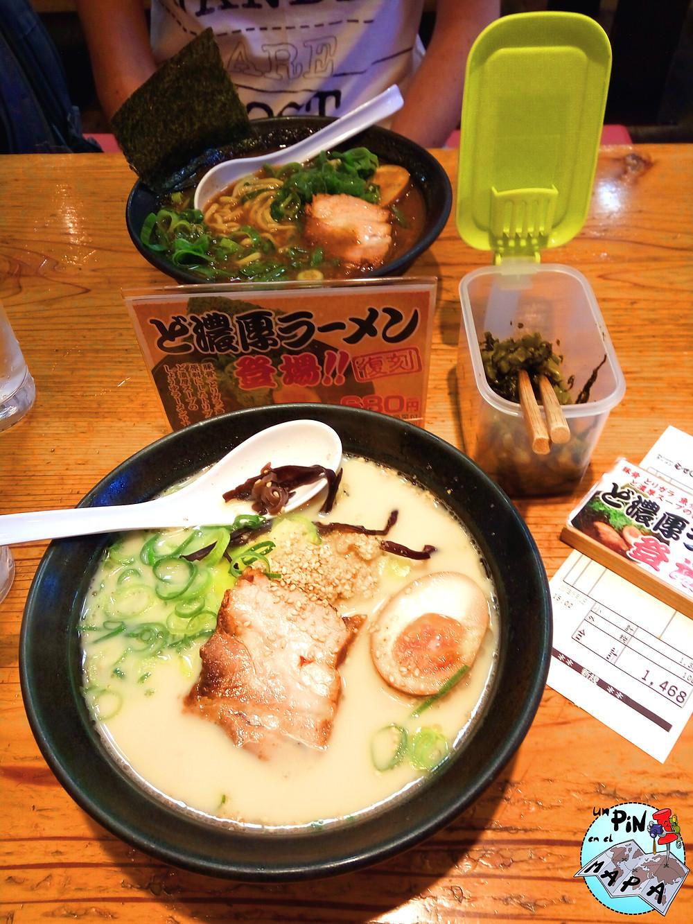 Comer barato en Japón | Un Pin en el Mapa