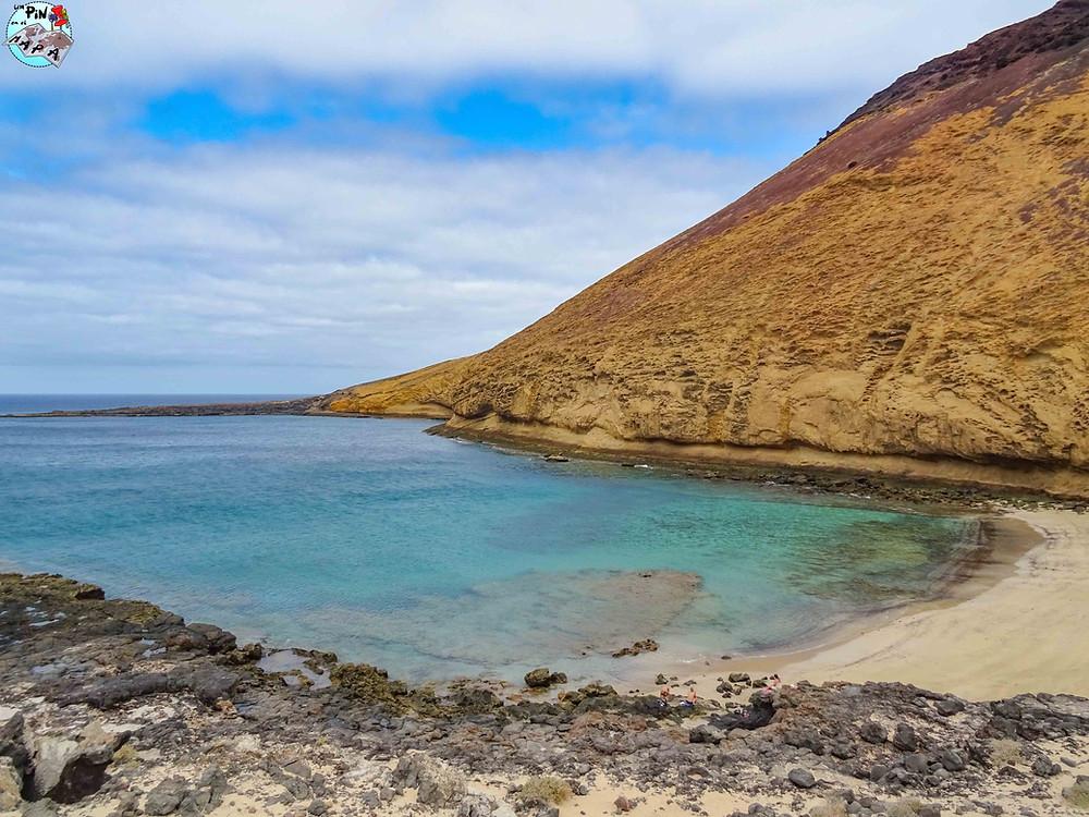 Playa Montaña Amarilla, La Graciosa | Un Pin en el Mapa