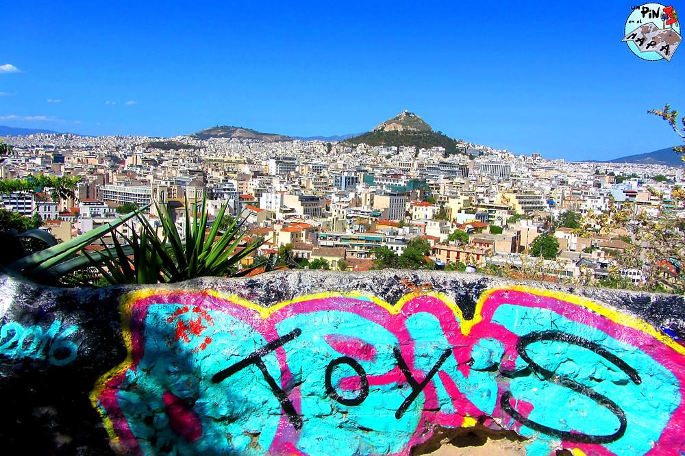 Mirador Anafiotika, Atenas | Un Pin en el Mapa