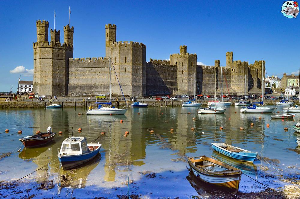 Castillo de Caernarfon, Gales | Un Pin en el Mapa