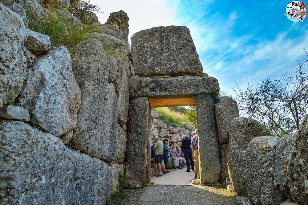Puerta del Postigo en Micenas | Un Pin en el Mapa
