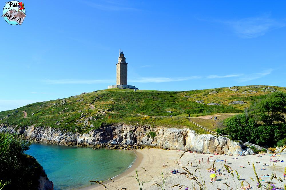 Playa As Lapas, La Coruña   Un Pin en el Mapa