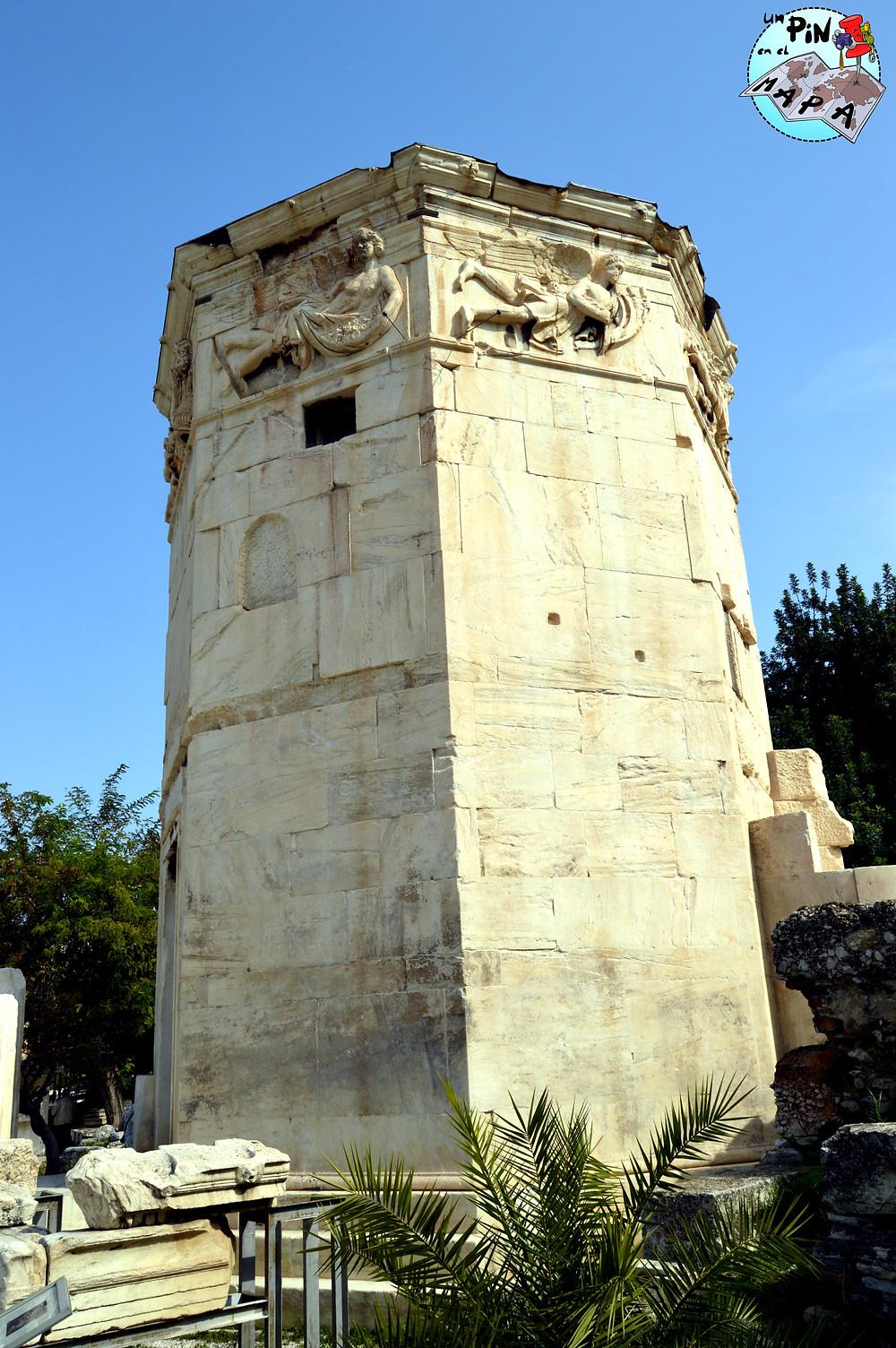 Torre de los vientos en el Ágora Romana, Atenas | Un Pin en el Mapa