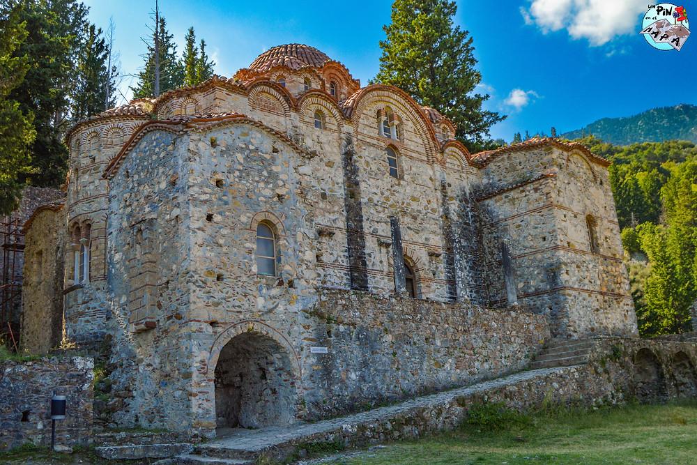 Agios Aphentiko, Mystras | Un Pin en el Mapa