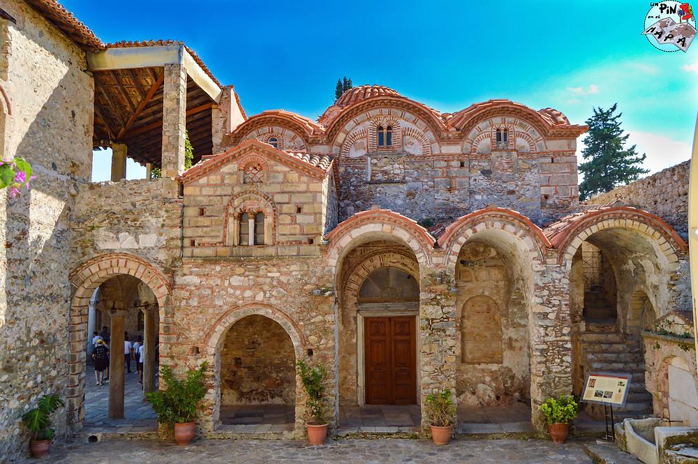 Metrópolis (Catedral de Agios Dimitrios), Mystras | Un Pin en el Mapa