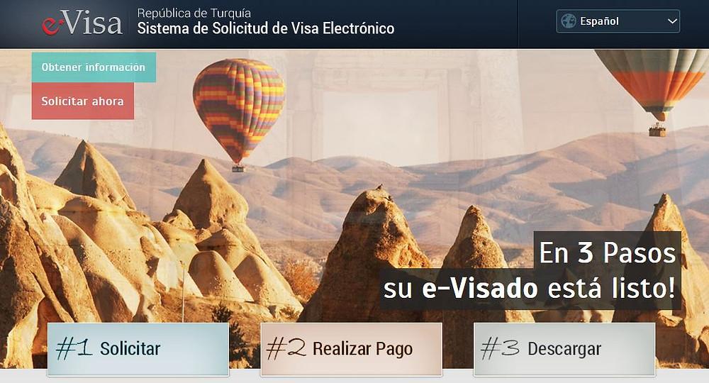 Sistema de Solicitud de Visa Electrónica