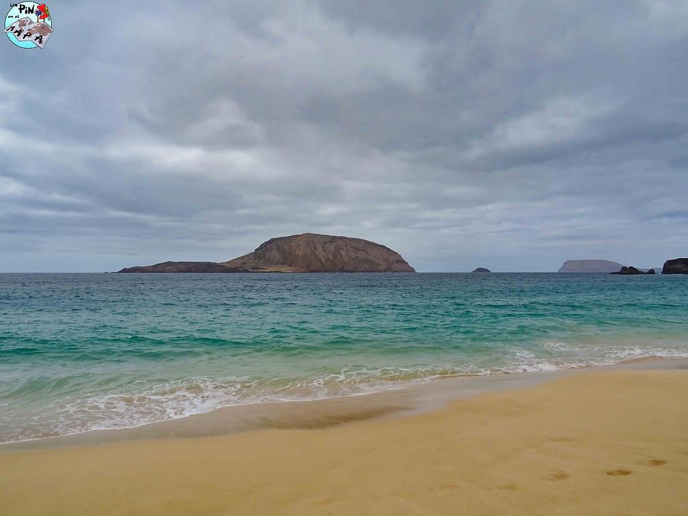 Playa de las Conchas, La Graciosa | Un Pin en el Mapa