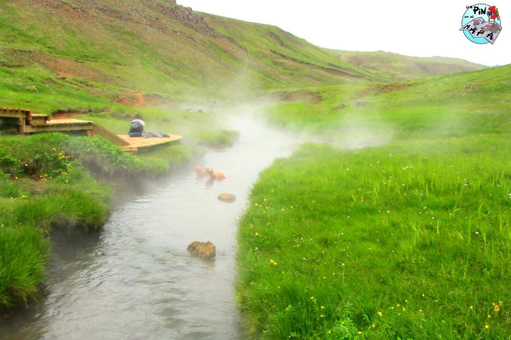 Río termal de Hveragerdi, Islandia | Un Pin en el Mapa