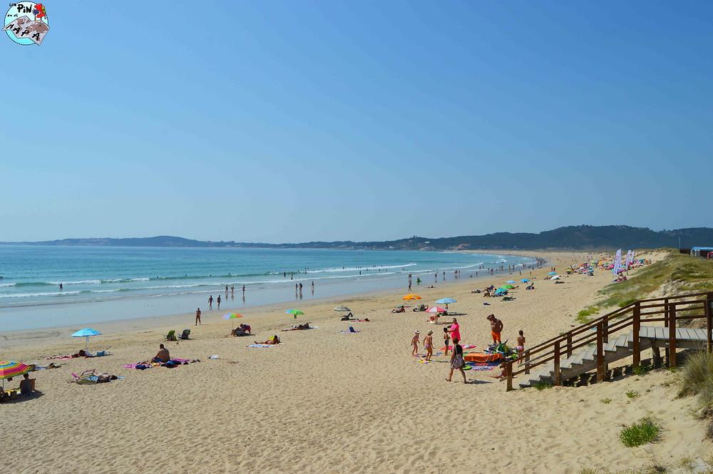 Playa de La Lanzada, Rías Bajas de Galicia | Un Pin en el Mapa