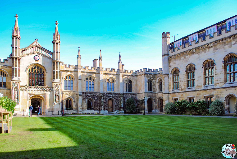 Corpus Christi College, Cambridge | Un Pin en el Mapa