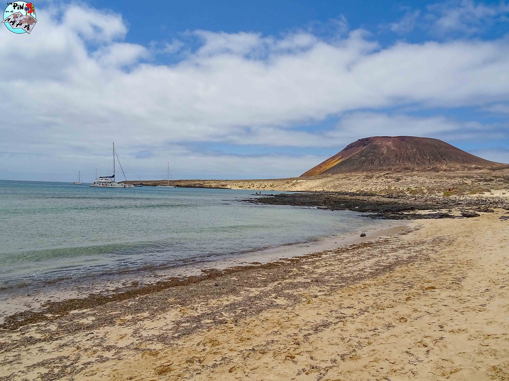 Playa Francesa, La Graciosa | Un Pin en el Mapa
