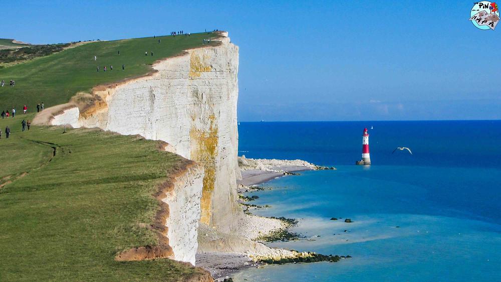 Beachy Head Lighthouse, acantilados de Seven Sisters | Un Pin en el Maoa