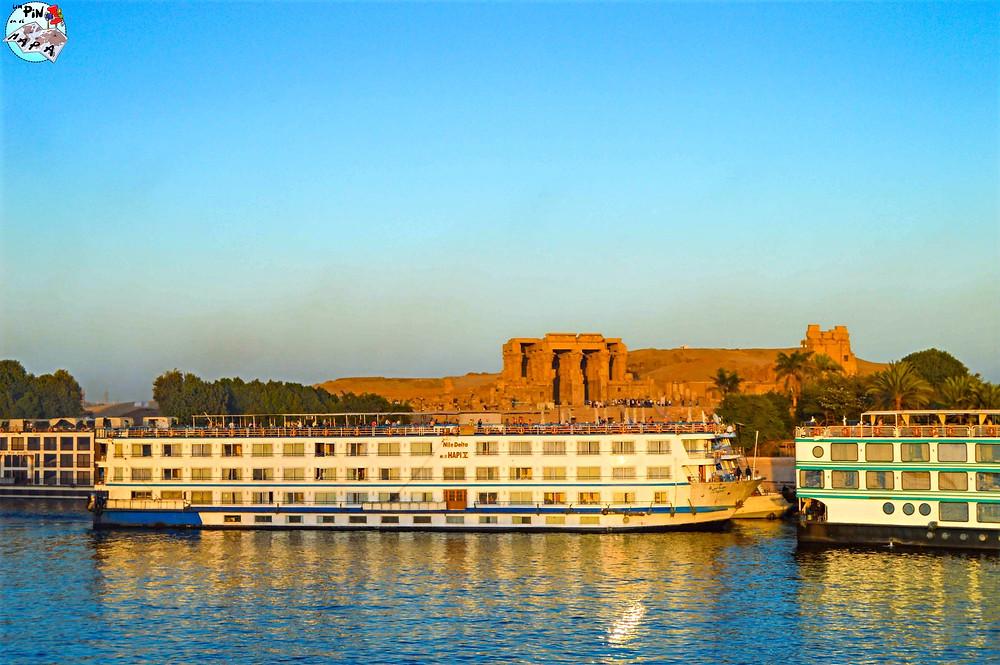 Templo de Kom Ombo durante el Crucero por el Nilo | Un Pin en el Mapa