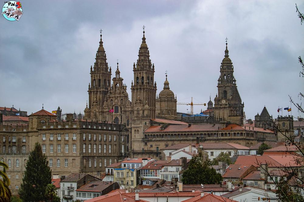 Parque de la Alameda en Santiago de Compostela | Un Pin en el Mapa