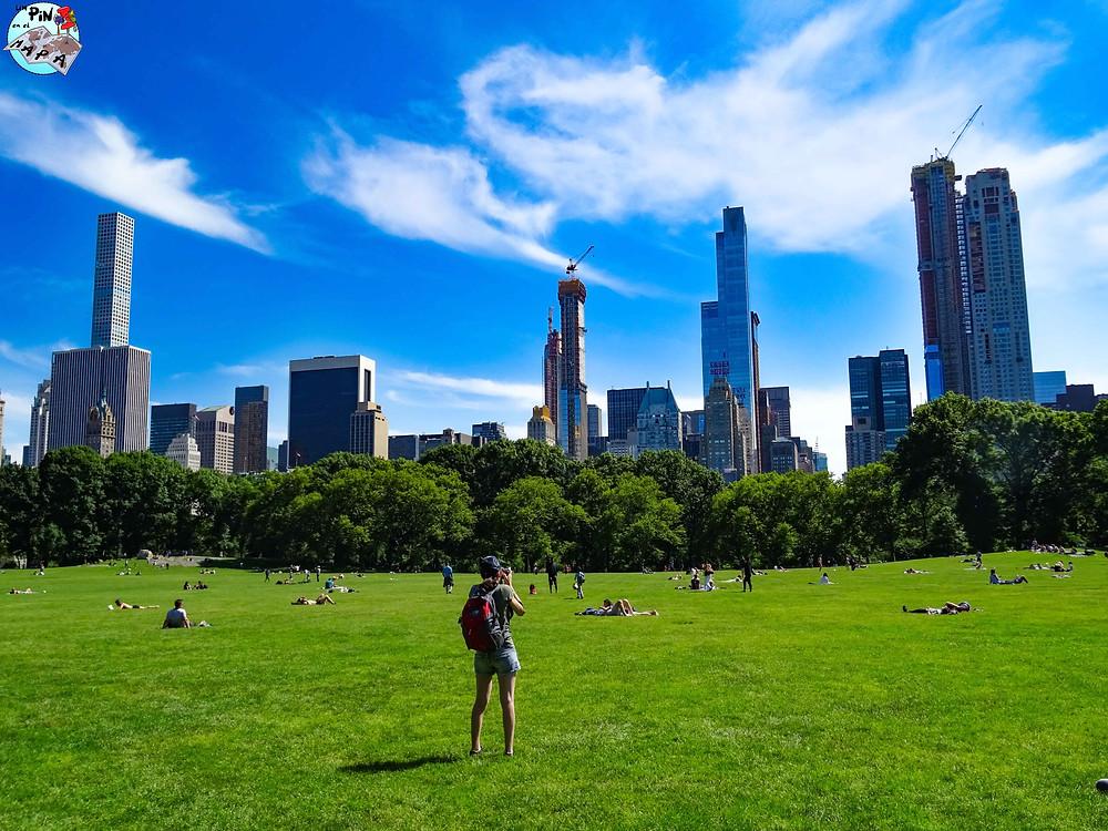 Central Park, Nueva York   Un Pin en el Mapa