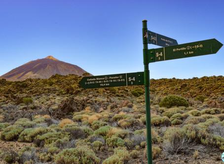 Las 5 mejores rutas de senderismo en el Teide