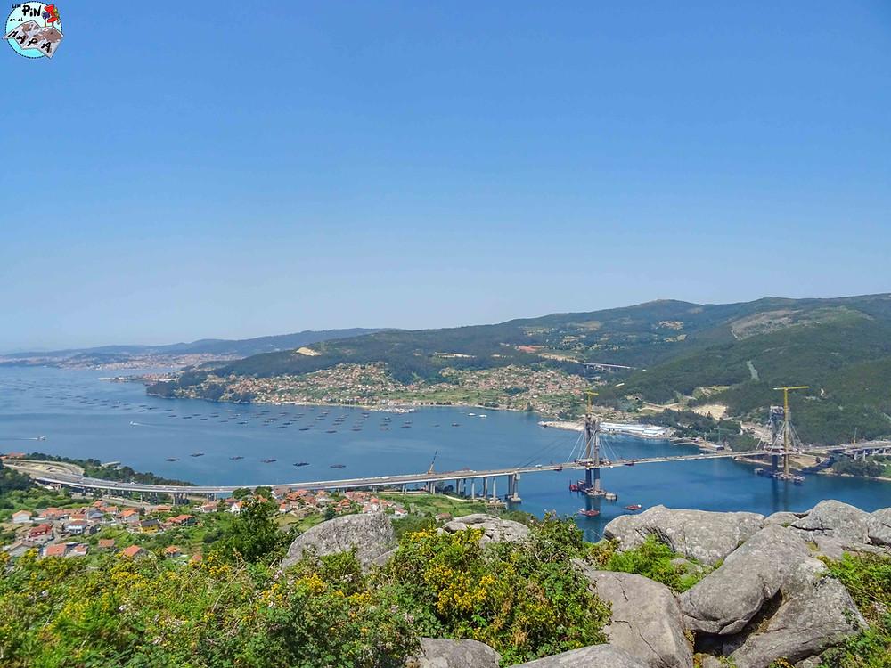 Mirador de Redondela, Rías Bajas de Galicia | Un Pin en el Mapa