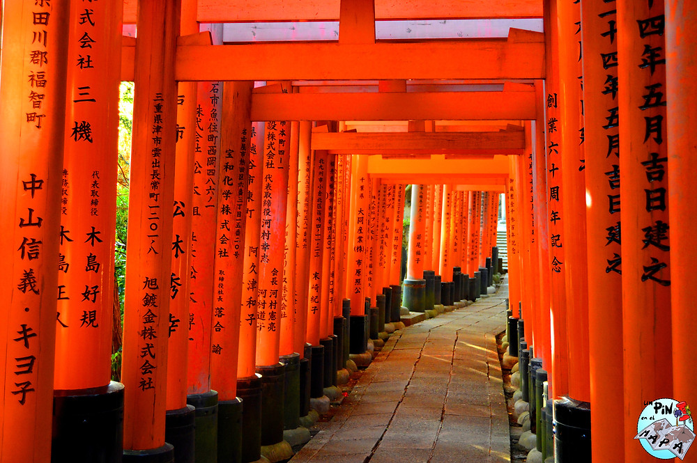 Fushimi-Inari Taisha, Kioto, Japón | Un Pin en el Mapa