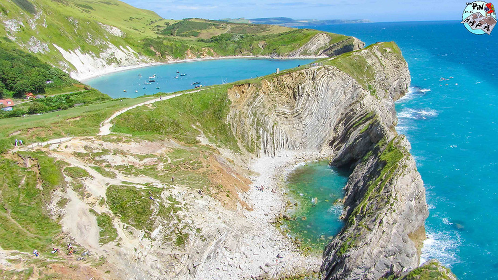 Lulworth Cove y Stair Hole | Un Pin en el Mapa