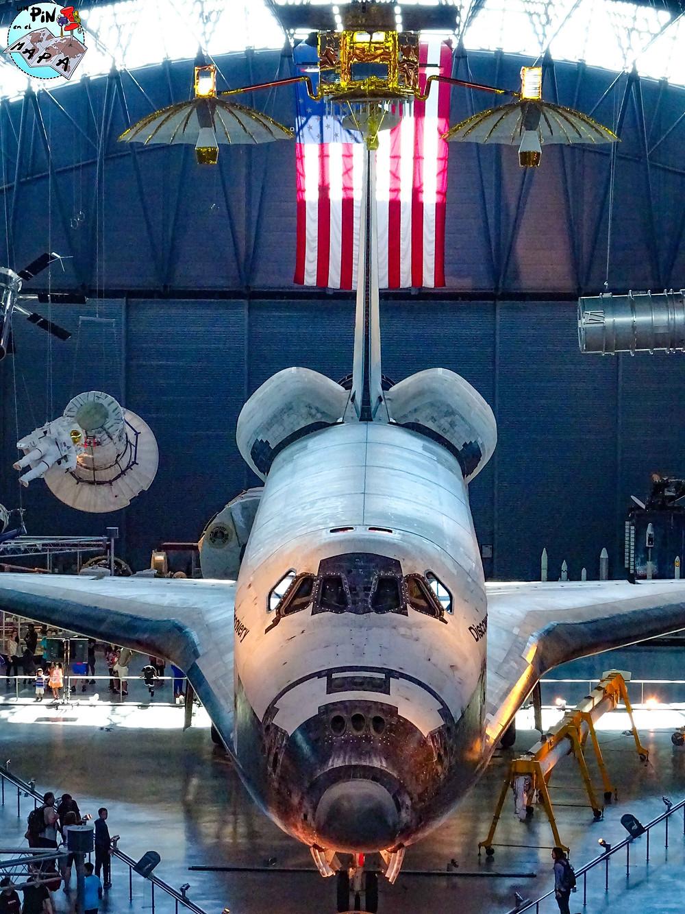 transbordador espacial Discovery   Un Pin en el Mapa