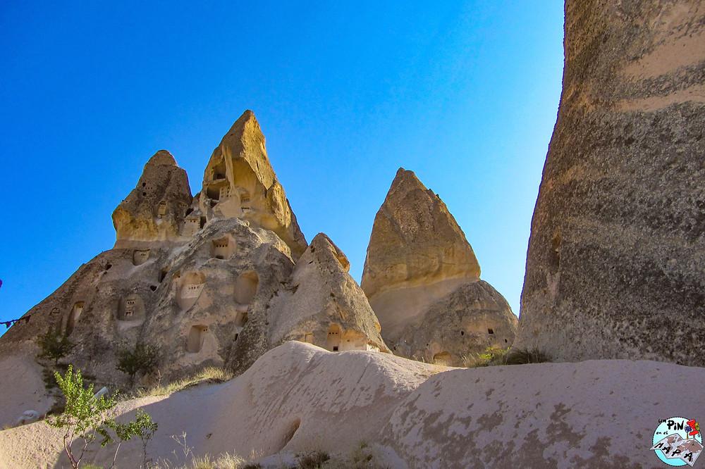 Castillo de Uçhisar, Capadocia | Un Pin en el Mapa