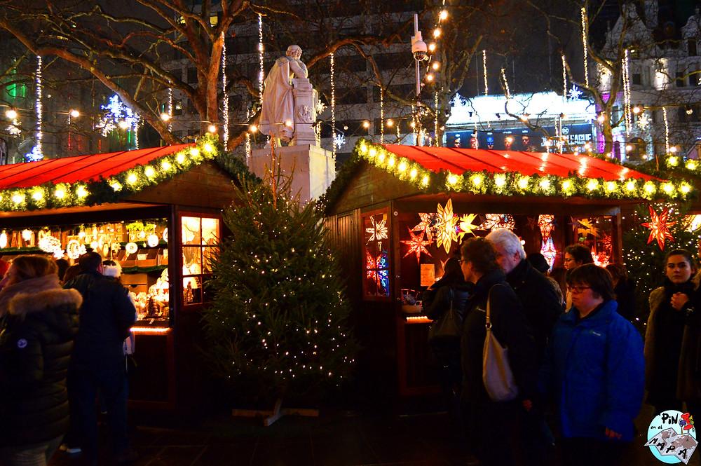 Leicester Square Christmas Market | Un Pin en el Mapa