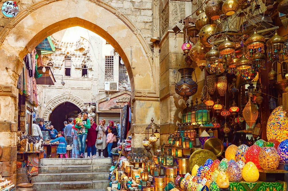 Bazar de Jan el-Jalili, Cairo | Un Pin en el Mapa