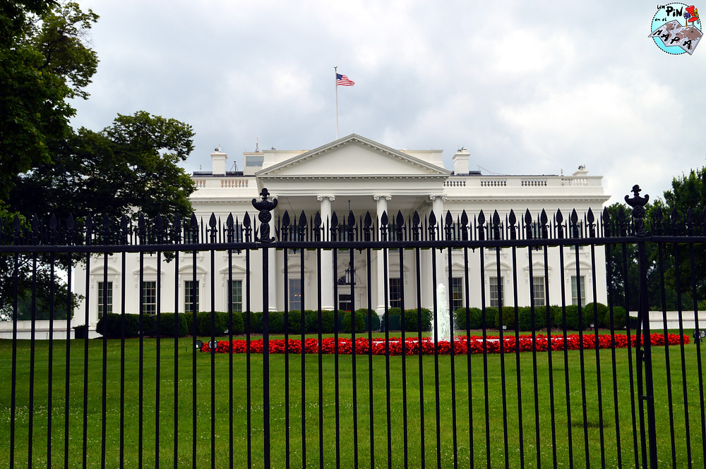 La Casa Blanca en Washington DC | Un Pin en el Mapa