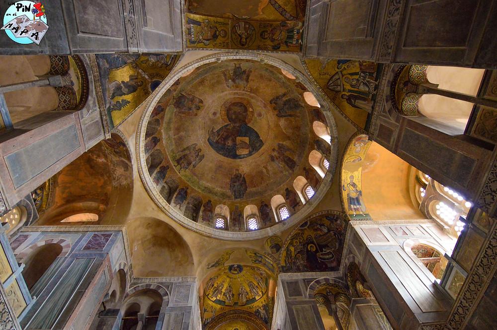 Iglesia de San Lucas en el Monasterio de Hosios Loukas | Un Pin en el Mapa