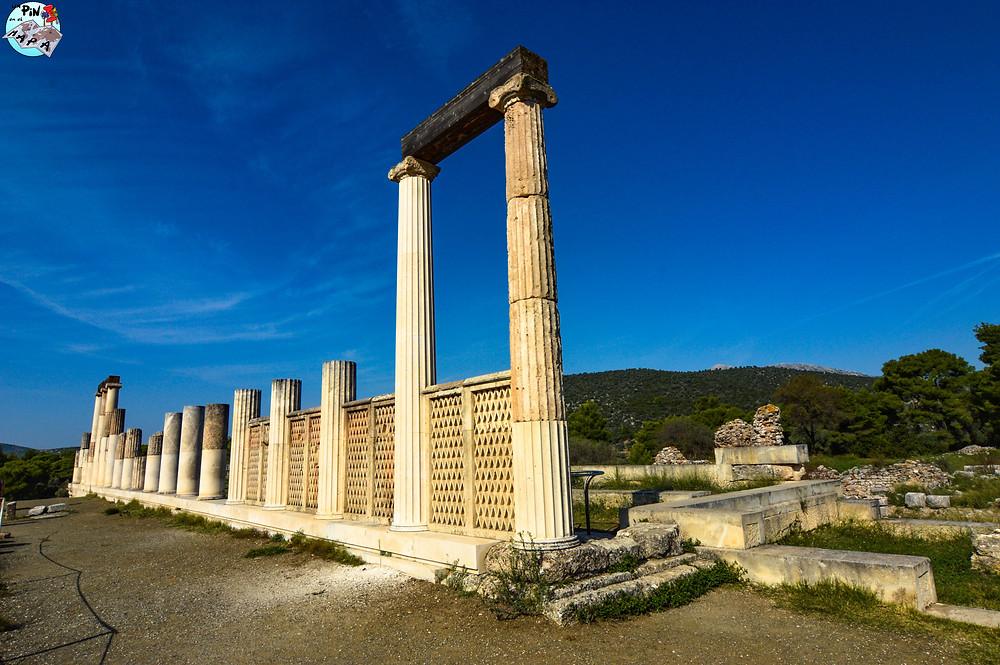 Nuevo ábaton o enguimitirion en Epidauro | Un Pin en el Mapa