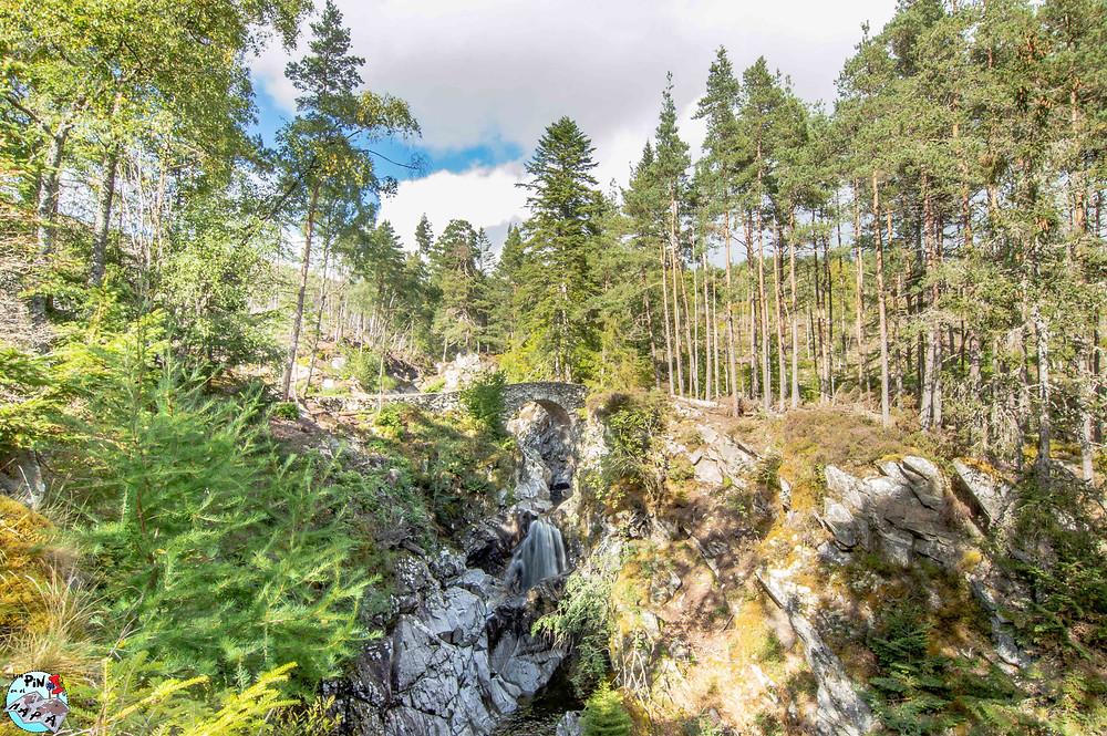 Falls of Bruar, Escocia | Un Pin en el Mapa