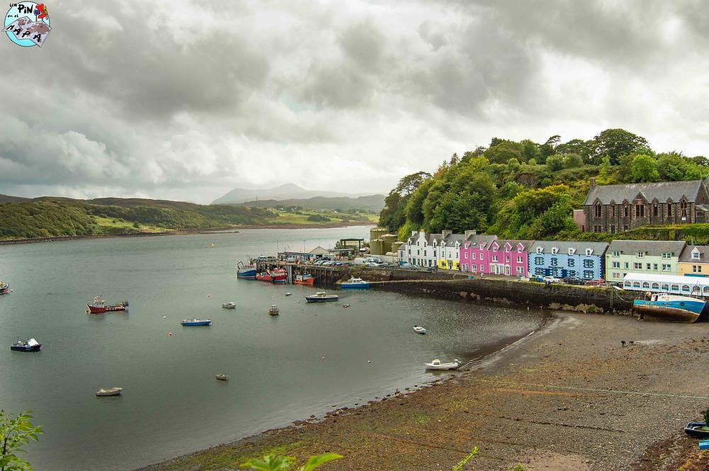 Portree, Isla de Skye | Un Pin en el Mapa