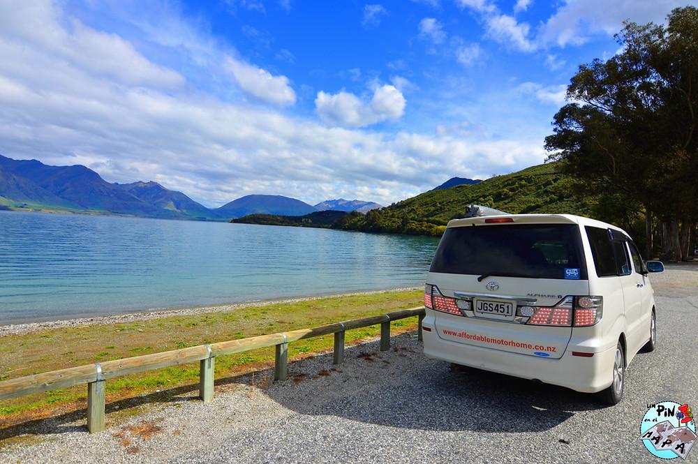 Campervan Nueva Zelanda | Un Pin en el Mapa