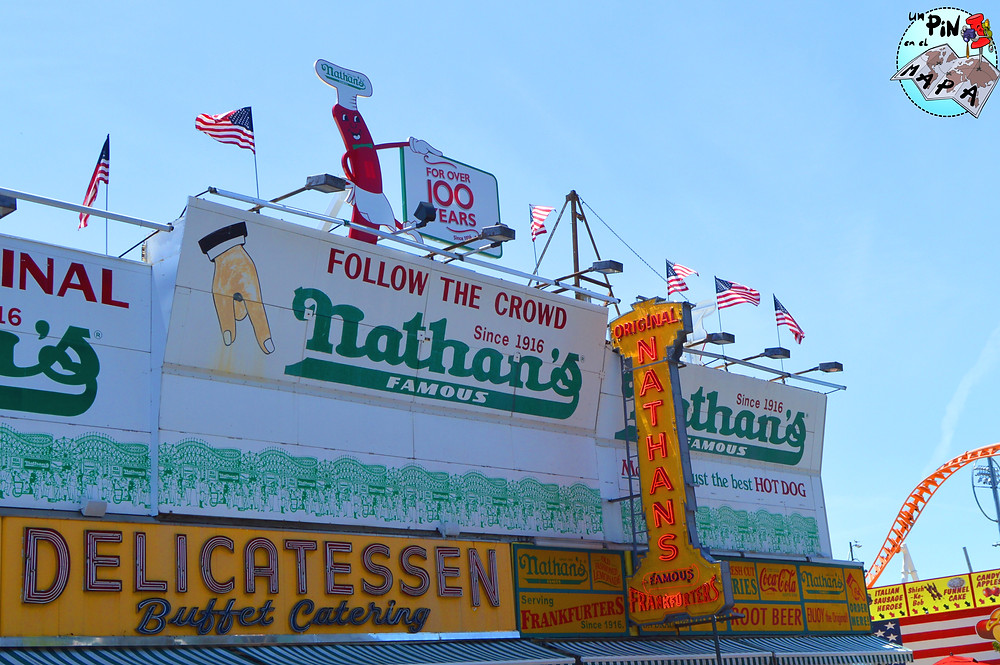 Nathan's Famous | Un Pin en el Mapa