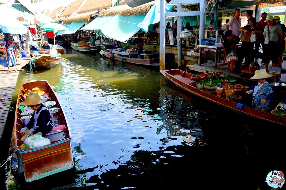 Taling Chan FloatingMarket Bangkok   Un Pin en el Mapa