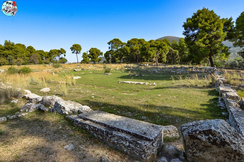 Katagogeion en Epidauro | Un Pin en el Mapa