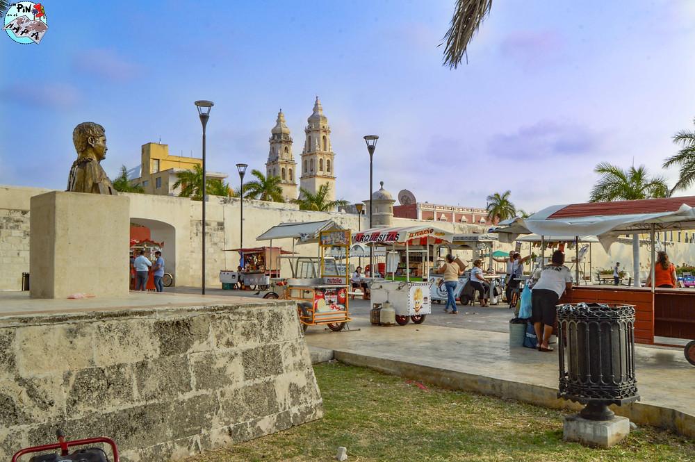 Parque de Las Banderas, Campeche | Un Pin en el Mapa