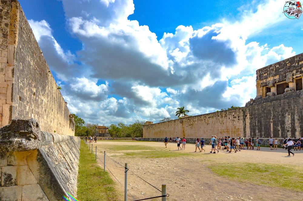 Gran Juego de Pelota en Chichén Itzá | Un Pin en el Mapa