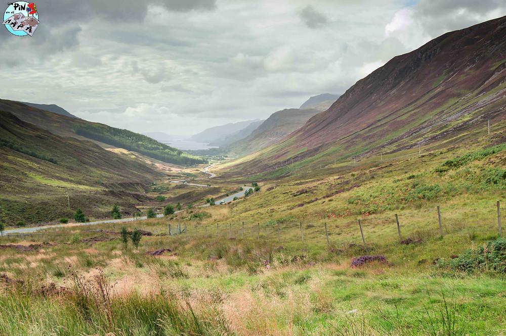 Glen Docherty, Escocia