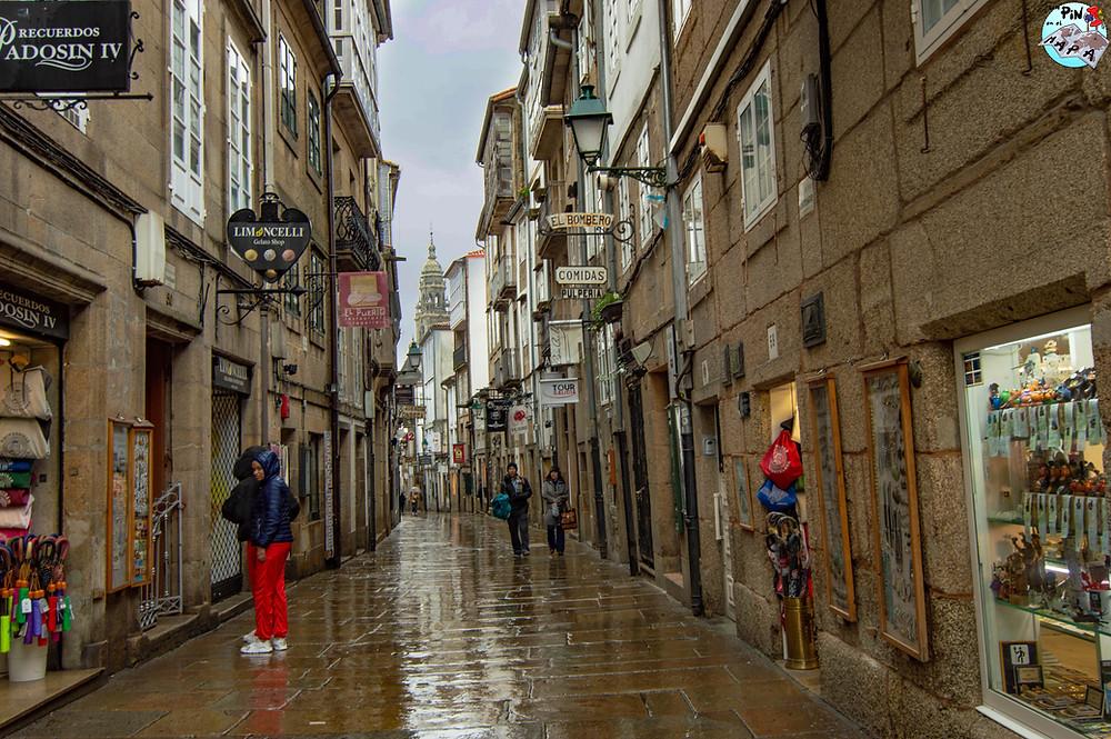 Rúa do Franco en Santiago de Compostela | Un Pin en el Mapa