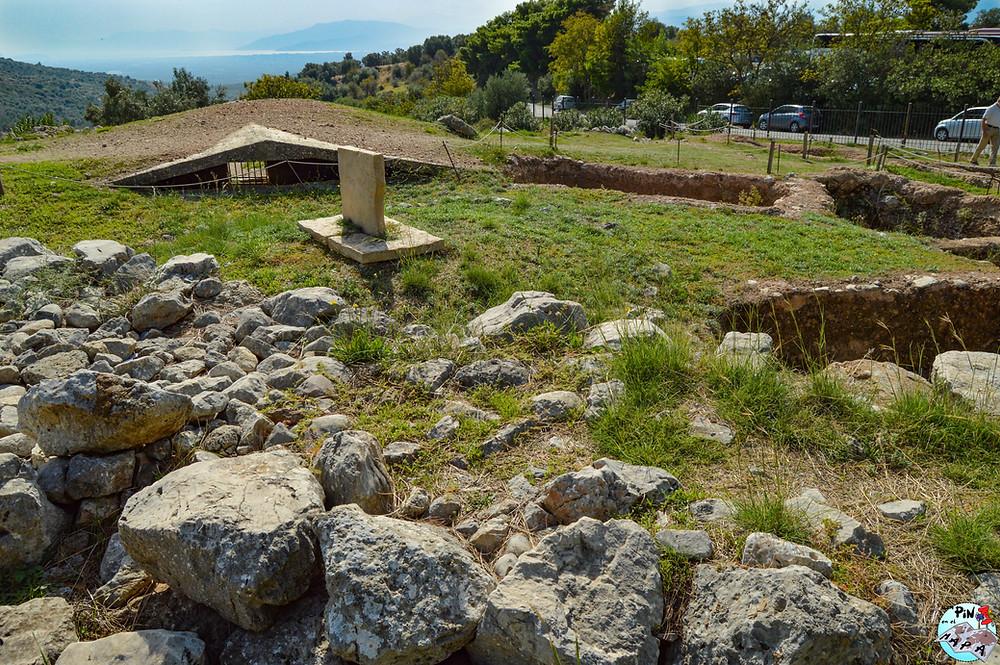 Círculo funerario B de Micenas | Un Pin en el Mapa