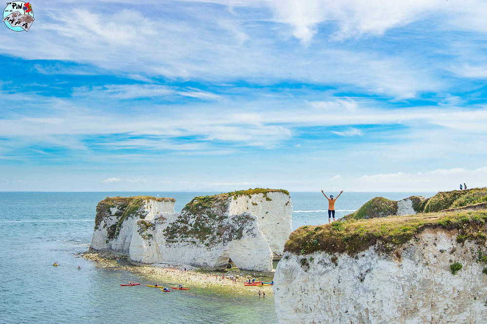 Old Harry Rocks | Un Pin en el Mapa