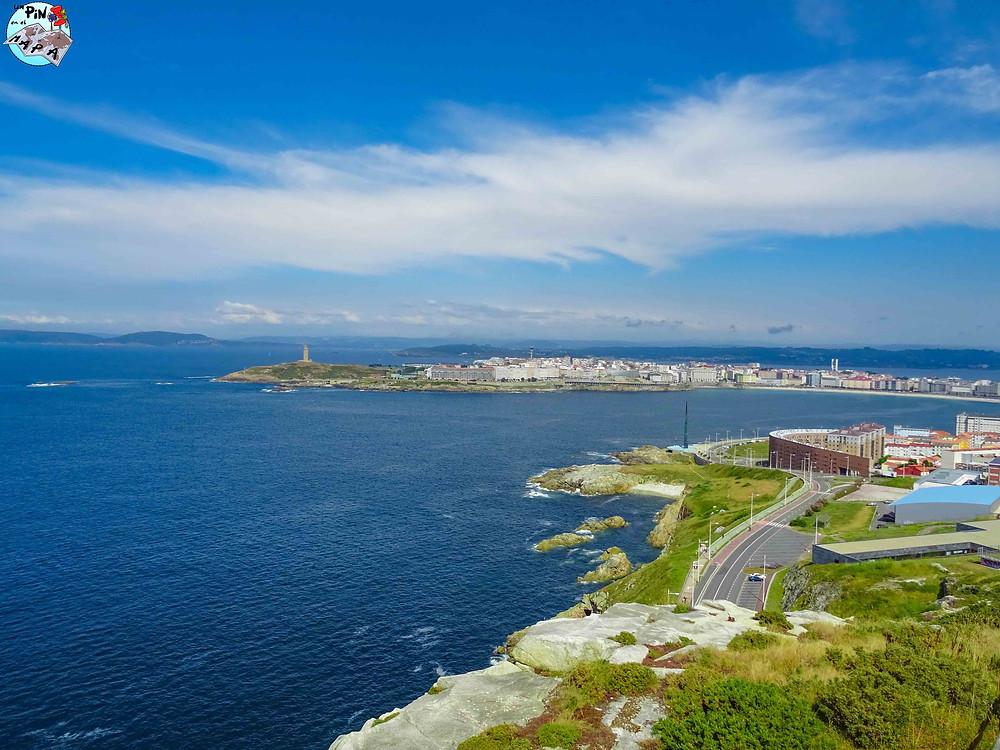 Mirador del Monte San Pedro en La Coruña | Un Pin en el Mapa