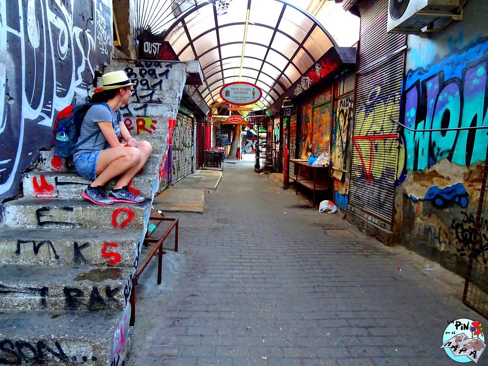 Arte urbano, Atenas | Un Pin en el Mapa