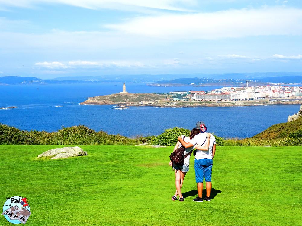 Mirador Monte San Pedro La Coruña | Un Pin en el Mapa